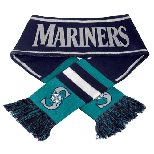 Seattle Mariners MLB 2013 Team Wordmark Knit Scarf