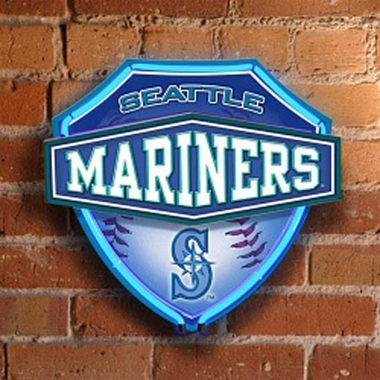 Seattle Mariners Neon Shield Wall Lamp