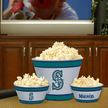 Seattle Mariners Plastic Serving Set