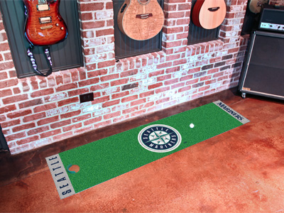 Seattle Mariners Putting Green Mat