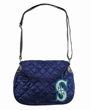Seattle Mariners Quilted Saddlebag