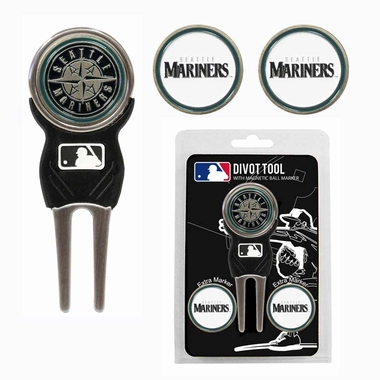 Seattle Mariners Repair Tool and Ball Marker Gift Set