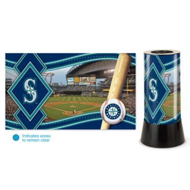 Seattle Mariners Rotating Lamp