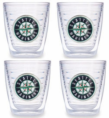 Seattle Mariners Set of FOUR 12 oz. Tervis Tumblers