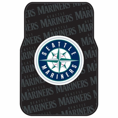 Seattle Mariners Set of Rubber Floor Mats