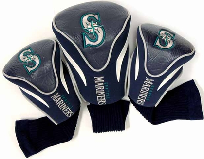 Seattle Mariners Set of Three Contour Headcovers