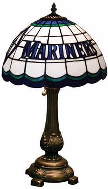 Seattle Mariners Stained Glass Table Lamp