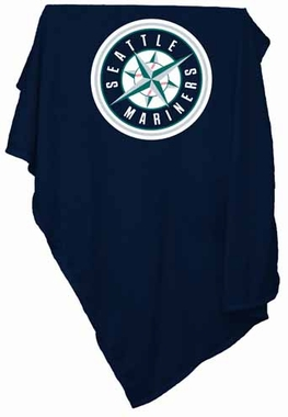 Seattle Mariners Sweatshirt Blanket