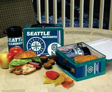 Seattle Mariners Tin Lunch Box