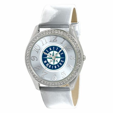 Seattle Mariners Women's Glitz Watch