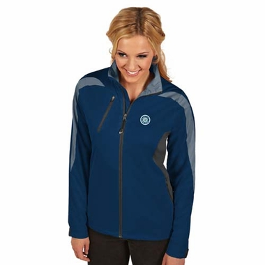 Seattle Mariners Womens Discover Jacket (Color: Navy)