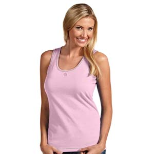 Seattle Mariners Womens Sport Tank Top (Color: Pink) - Large