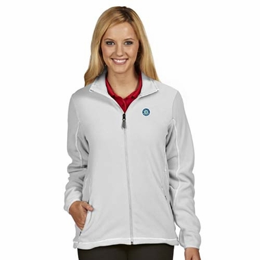 Seattle Mariners Womens Ice Polar Fleece Jacket (Color: White)