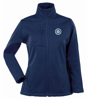 Seattle Mariners Womens Traverse Jacket (Color: Navy)
