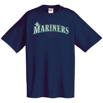 Seattle Mariners Wordmark T-Shirt