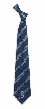 Seattle Mariners Woven Poly 1 Necktie