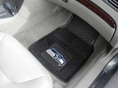 Seattle Seahawks 2 Piece Heavy Duty Vinyl Car Mats