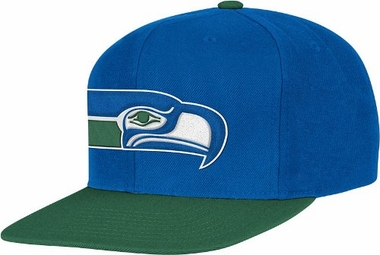 Seattle Seahawks 2-Tone Vintage Snap back Hat