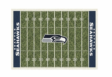 "Seattle Seahawks 3'10"" x 5'4"" Premium Field Rug"