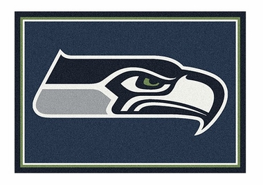 "Seattle Seahawks 3'10"" x 5'4"" Premium Spirit Rug"