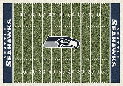 "Seattle Seahawks 7'8"" x 10'9"" Premium Field Rug"