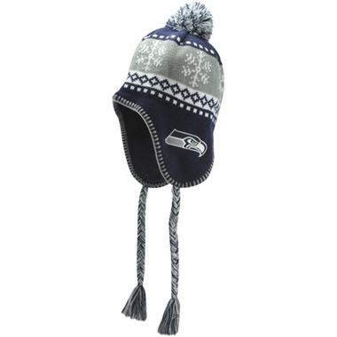 Seattle Seahawks Abomination Tassel Knit Hat