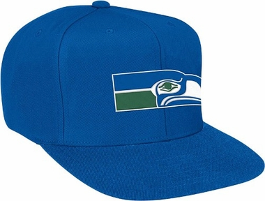 Seattle Seahawks Basic Logo Snap Back Hat