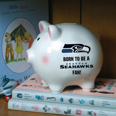 Seattle Seahawks (Born to Be) Piggy Bank