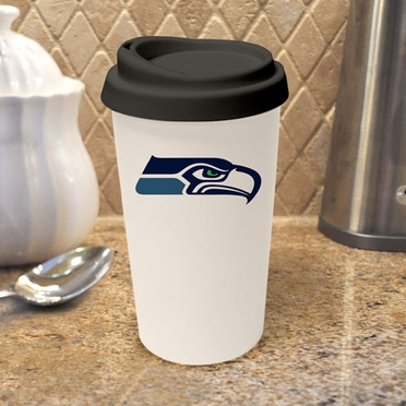 Seattle Seahawks Ceramic Travel Cup