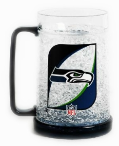 Seattle Seahawks Crystal Freezer Mug