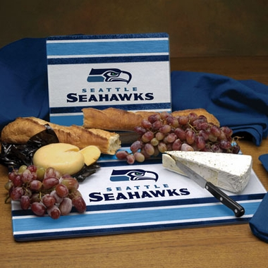 Seattle Seahawks Cutting Board Set