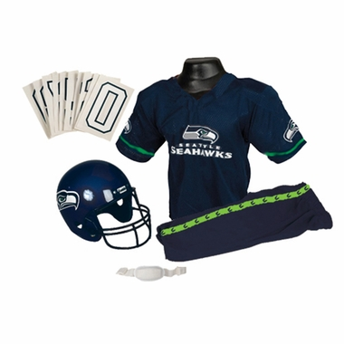Seattle Seahawks Deluxe Youth Uniform Set