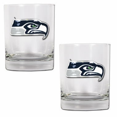 Seattle Seahawks Double Rocks Set