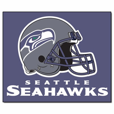 Seattle Seahawks Economy 5 Foot x 6 Foot Mat