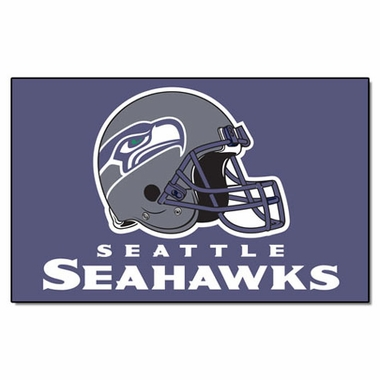 Seattle Seahawks Economy 5 Foot x 8 Foot Mat