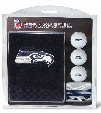 Seattle Seahawks Embroidered Towel Gift Set