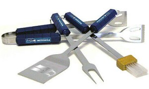 Seattle Seahawks Grill BBQ Utensil Set