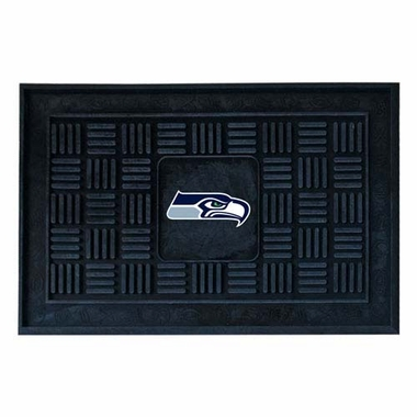 Seattle Seahawks Heavy Duty Vinyl Doormat