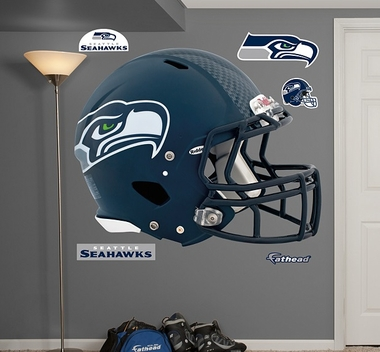 Seattle Seahawks Helmet Fathead Wall Graphic