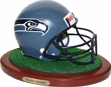 Seattle Seahawks Helmet Figurine