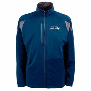 Seattle Seahawks Mens Highland Water Resistant Jacket (Team Color: Navy) - X-Large