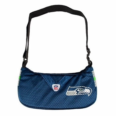 Seattle Seahawks Jersey Material Purse