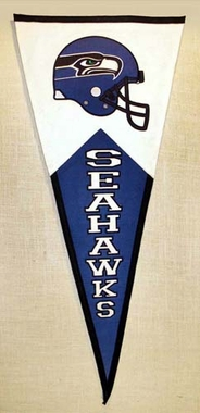 Seattle Seahawks Large Wool Pennant