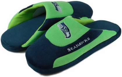 Seattle Seahawks Low Pro Scuff Slippers
