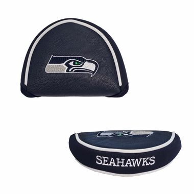 Seattle Seahawks Mallet Putter Cover