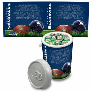 Seattle Seahawks Mega Can Cooler