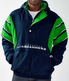 Men's Seattle Seahawks Majestic Navy Field Classic Cool Base Synthetic Polo