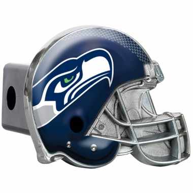 Seattle Seahawks Metal Helmet Trailer Hitch Cover