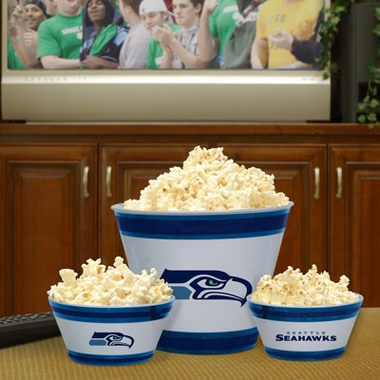 Seattle Seahawks Plastic Serving Set