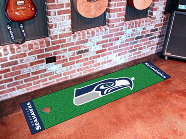 Seattle Seahawks Putting Green Mat
